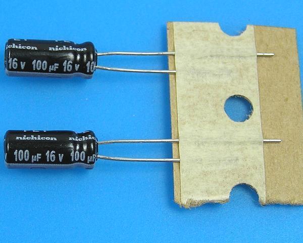 100uF/16V - 105°C Nichicon WZ kondenzátor elektrolytický