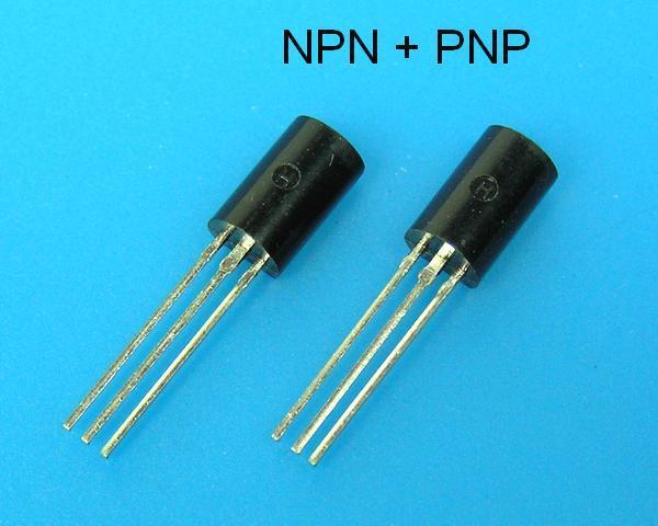 2SC2383 + 2SA1013 Toshiba pár pro NF výkonové zesilovače - budiče