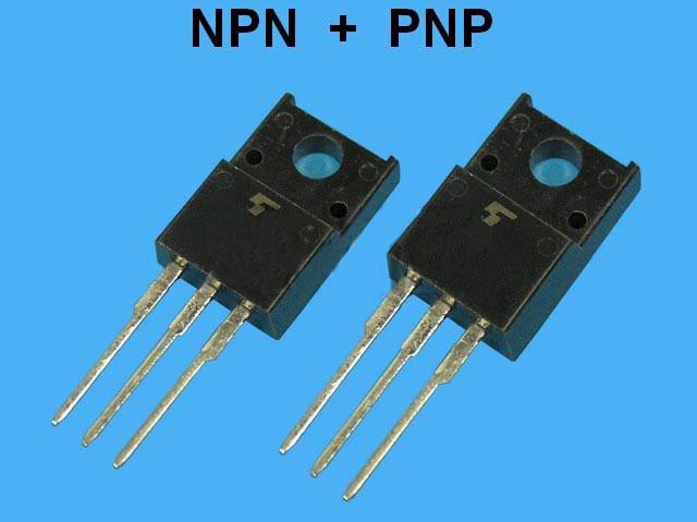 2SC4793 + 2SA1837 Toshiba pár pro NF výkonové zesilovače - budiče