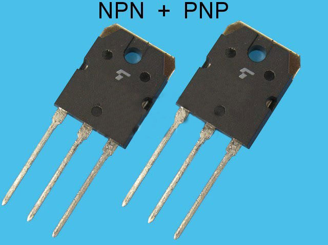2SC5358 + 2SA1986 Toshiba pár pro NF výkonové zesilovače