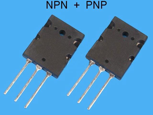 2SC5359 + 2SA1987 Toshiba pár pro NF výkonové zesilovače