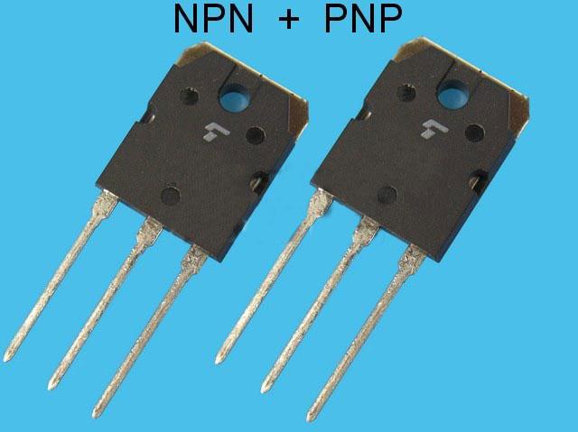 2SK405 + 2SJ115 Toshiba pár pro NF výkonové zesilovače