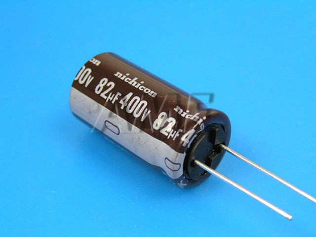 82uF/400V - 105°C Nichicon kondenzátor elektrolytický