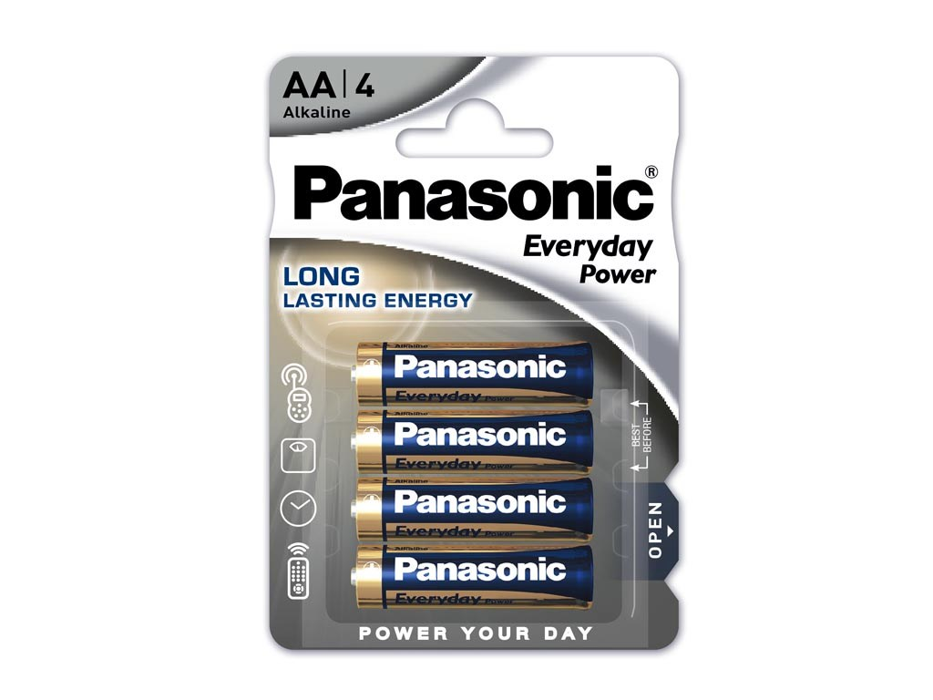 AA Baterie PHILIPS Power Alkaline LR06 balení 4ks LR6P4B/10