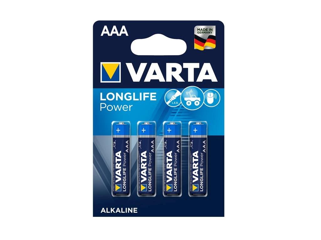 AAA Baterie VARTA High Energy LR03 balení 4ks