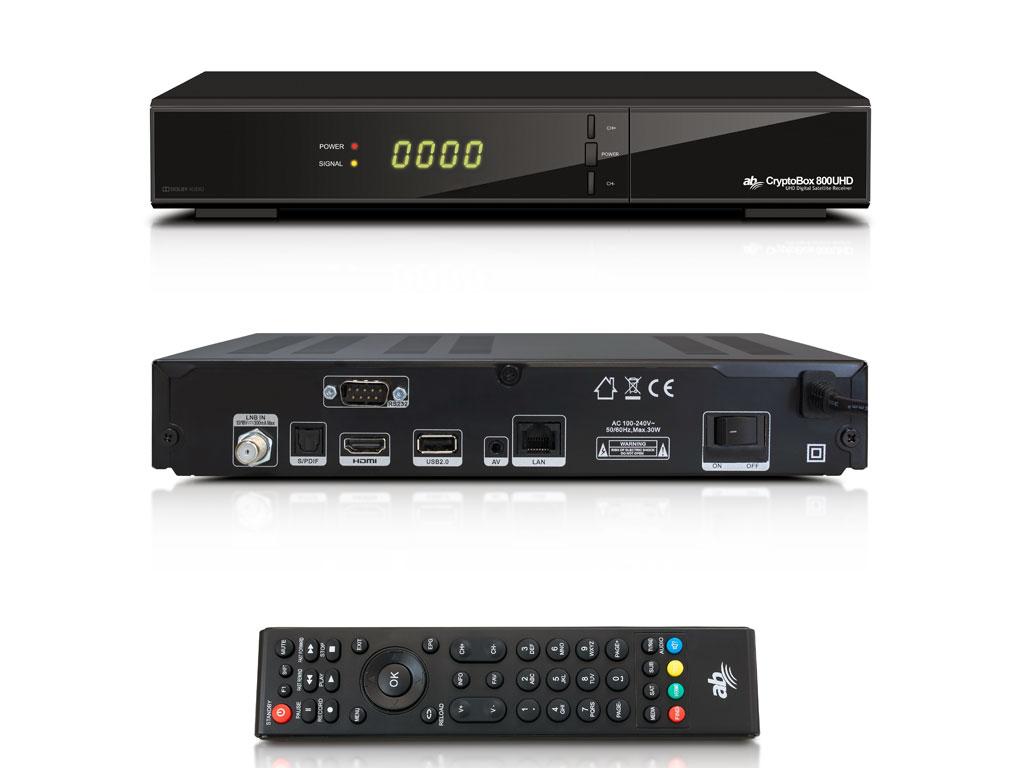 AB CryptoBox 600HD mini satelitní přijímač DVB-S2 FastScan