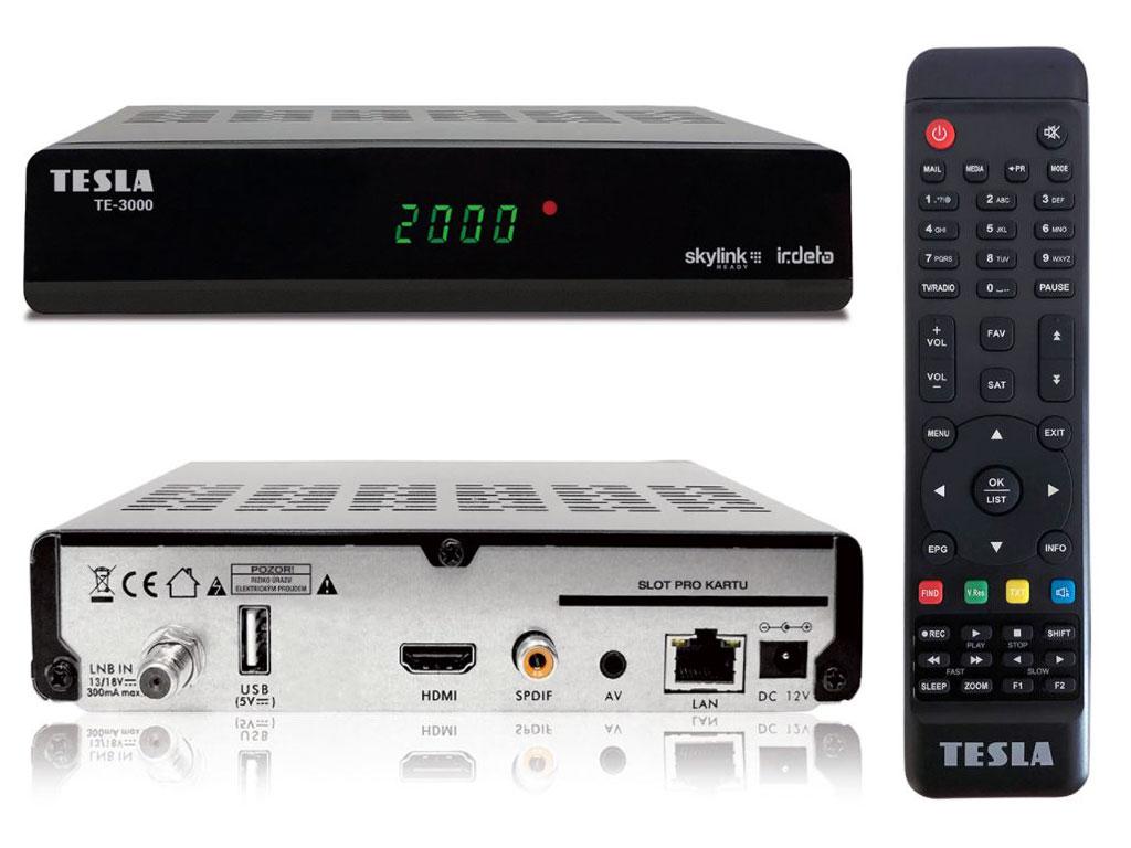 AB CryptoBox 650HD satelitní přijímač DVB-S2 FastScan
