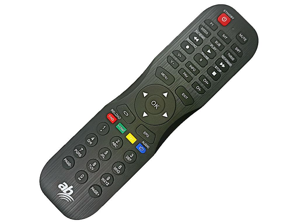 AB Cryptobox 600 HD, 650 HD, 652 HD, 600 mini HD Dálkový ovladač originální