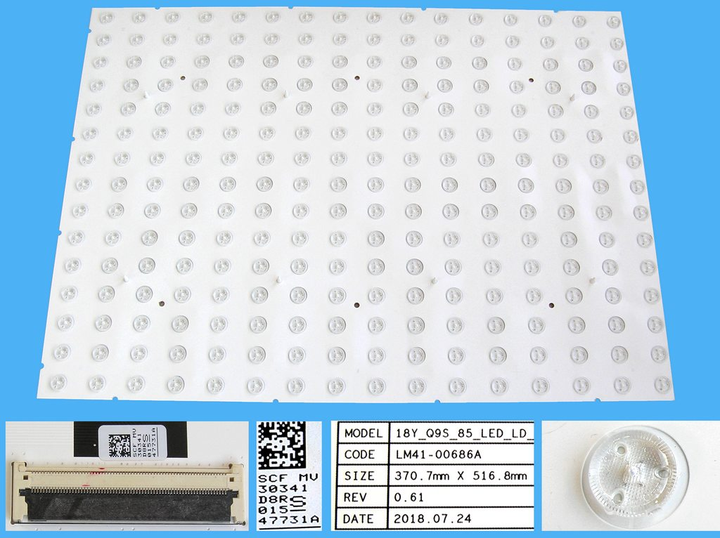 AKB30377801 Dálkový ovladač LG originální