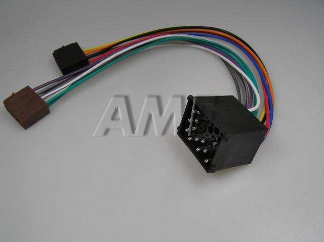 Adapter AUTO BMW do r.2001 na ISO konektor ZRS-AS-10B