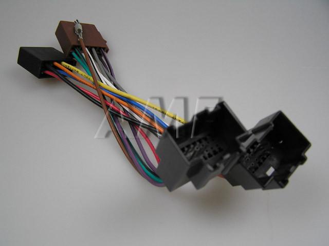 Adapter AUTO CHEVROLET AVEO, CAPTIVA, EPICA ISO konektor ZRS-AS-41B