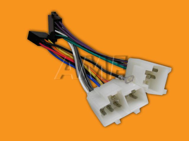 Adapter AUTO NISSAN do roku 2000 na ISO konektor ZRS-AS-13B