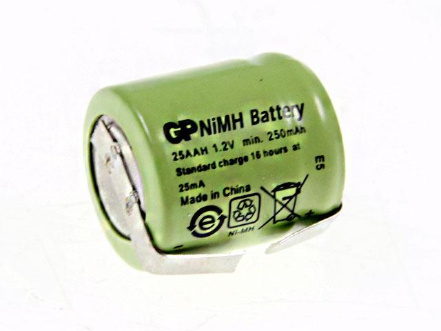 Akumulátor 1.2V / 250mAh AVEX 25AAH1AX