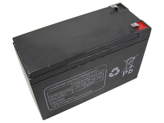 Akumulátor 12V / 7,2Ah olověný - Multipower FASTON 178