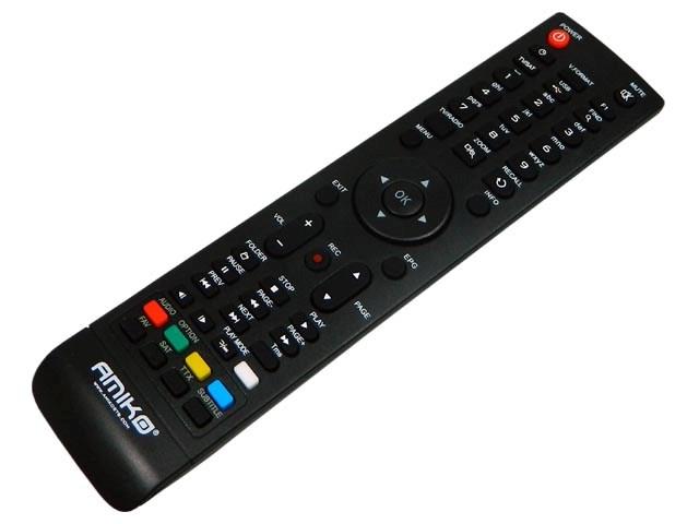 Amiko 81xx, 82xx, 88xx Mini HD, Micro HD Dálkový ovladač AMIKO originální