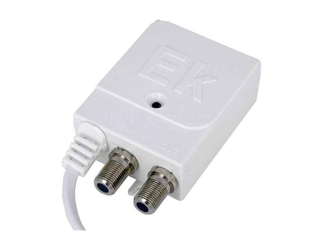 Anténní napaječ 12V / 100mA EL-ZOL pro antenní zesilovač s výhybkou - konektor IEC