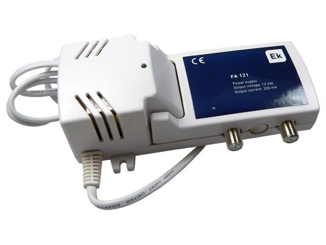 Anténní napaječ 12V / 200mA s (napájení průchozí pro LNB) FA121