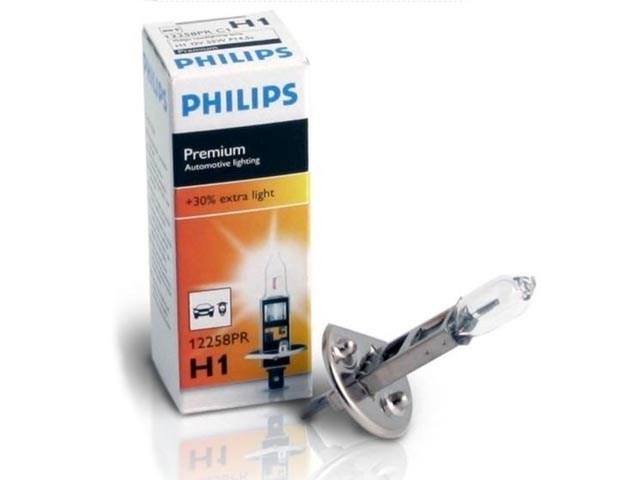 Autožárovka H1 12V 55W P14,5s Premium PHILIPS