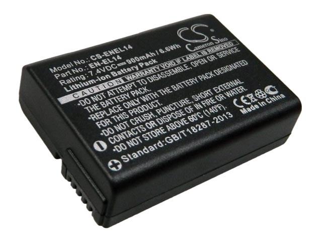 Baterie Nikon D3300, D5300, D5500, EN-EL14a / EN EL14a, VFB11402