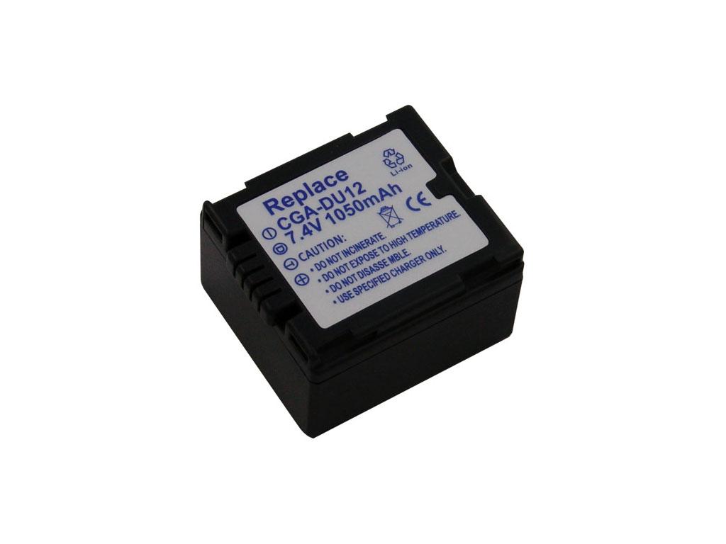 Baterie Panasonic CGA-DU12 7,4V-1050mAh Li-ion
