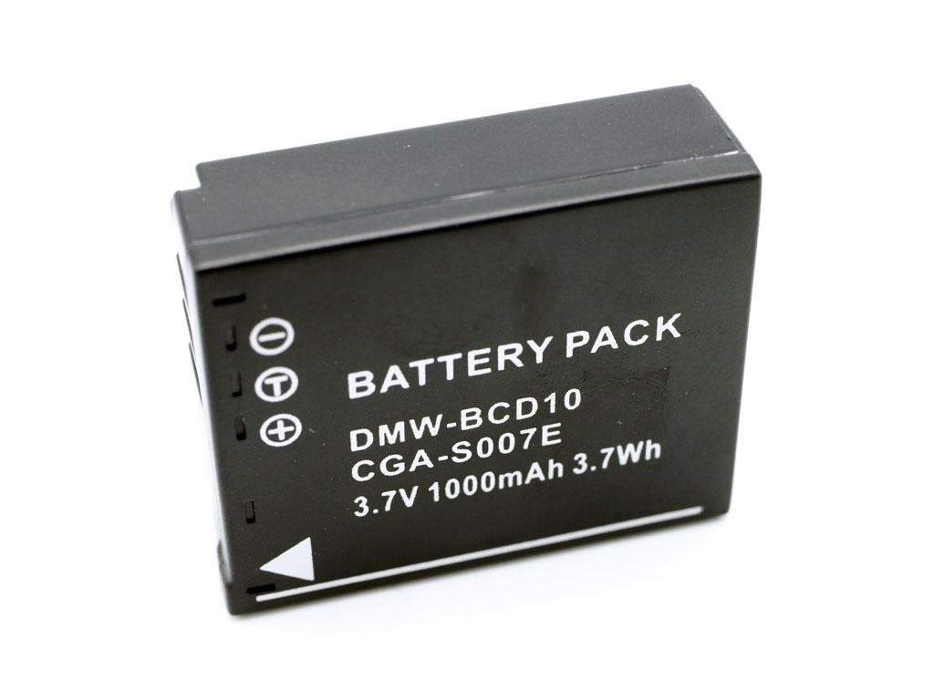 Baterie Panasonic CGAS007, CGA-S007, DMW-BCD10 akumulátor
