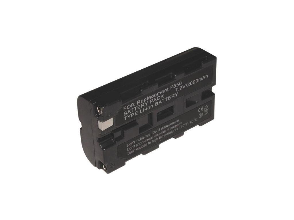 Baterie Sony NPF550, NP-F550 akumulátor