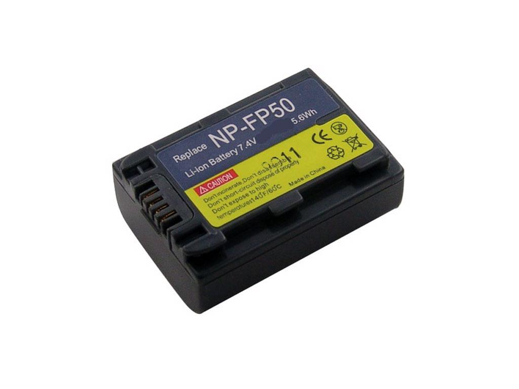 Baterie Sony NPFP50, NP-FP50 akumulátor