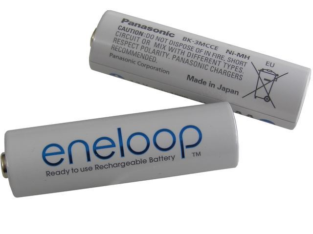 Baterie nabíjecí 1.2V / 1900mAh AA Eneloop Panasonic BK-3MCCE