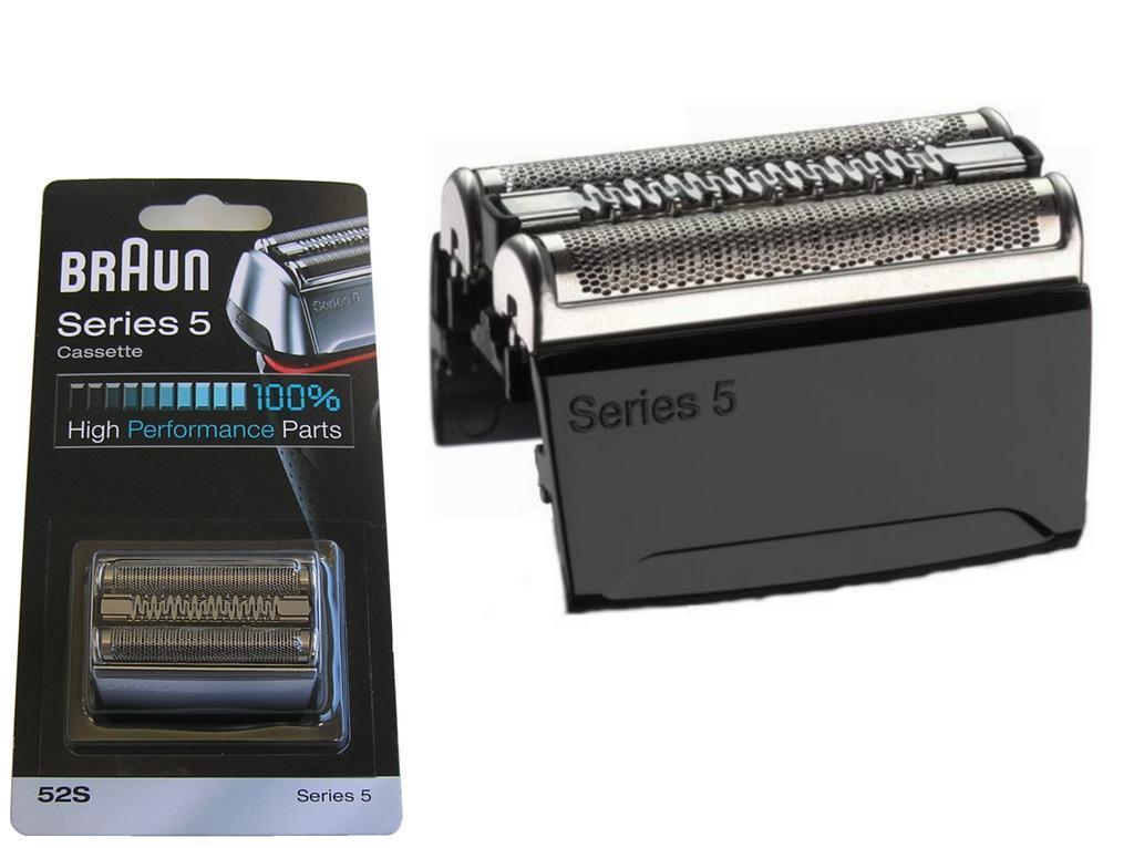Braun planžeta Braun 52S / 52B / 81384830 Foil Serie 5 / Series 5 Cassette KP52S / KP52B