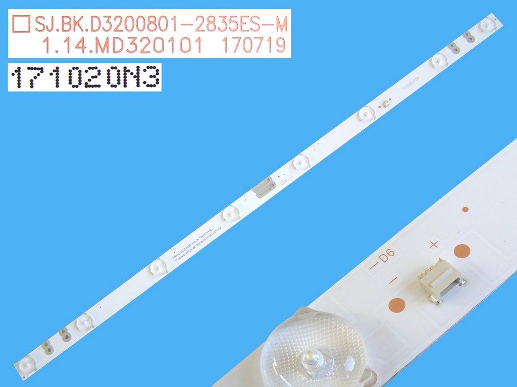 CCFL trubice backlight podsvícení d=3mm, l=659mm, tvar I-FORM / CCFL lampa