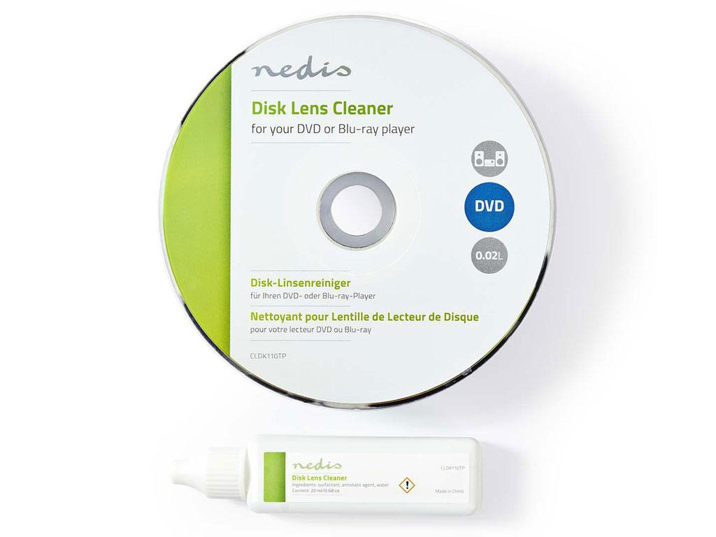DVD / Blu-ray disk čistící s kapalinou KÖNIG TVDLC10
