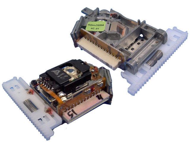 DVD jednotka SOHDSSB, SOH-SSB / SOHDSSA