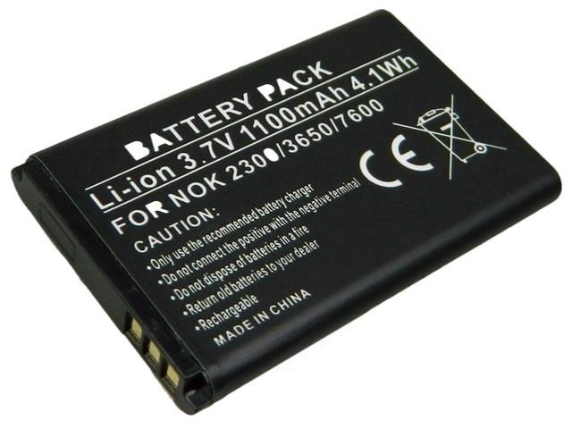 GSM akumulátor 3.6V / 1100mAh Li-Ion BL-5C,BL5C náhradní