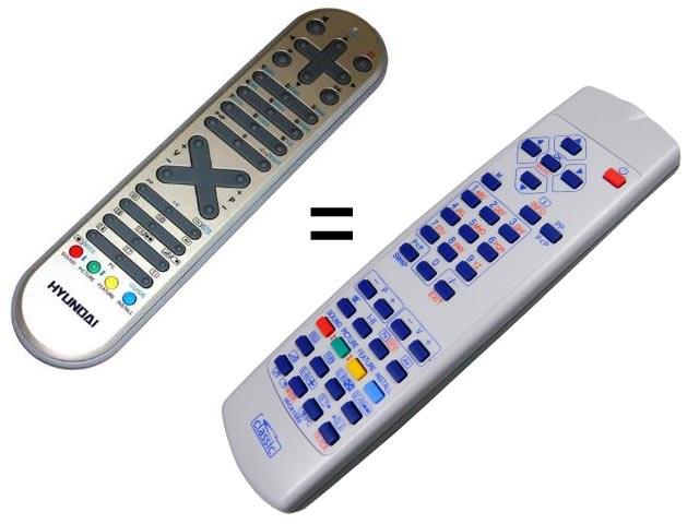 IRC81582 CLASSIC Dálkový ovladač náhradní 1:1 za RC1055, RC1050, RC1060, RC1070