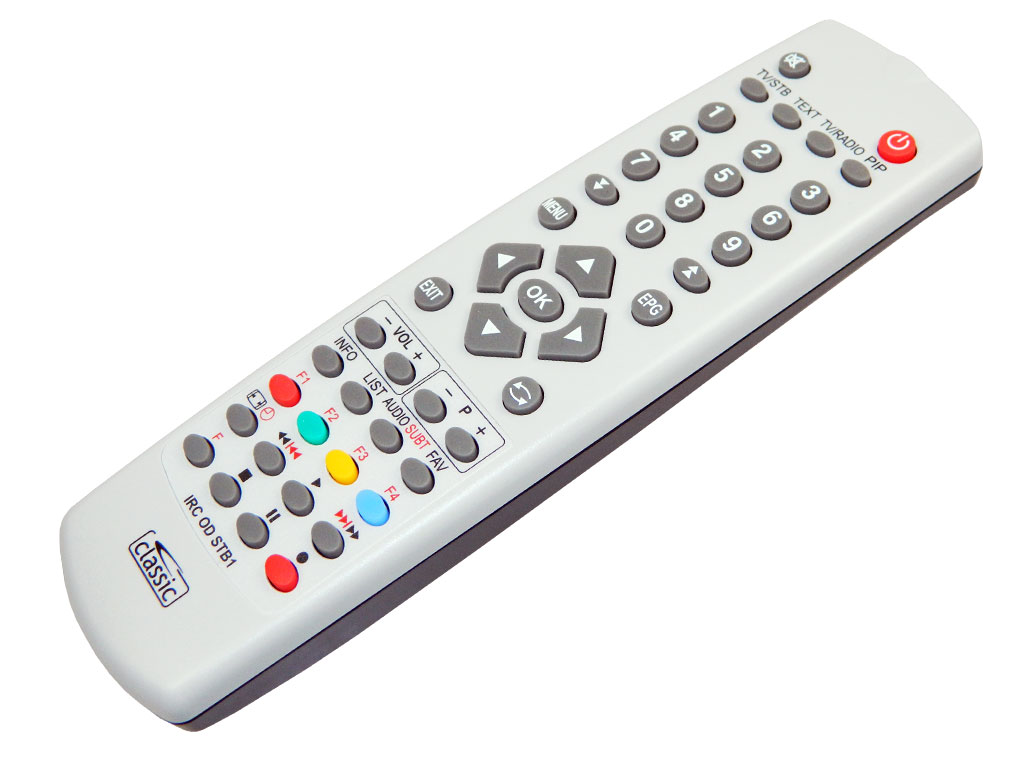 IRC84052 Programovatelný dálkový ovladač Classic IRC OD STB1 (DVB-S, DVB-T, DVB-C )