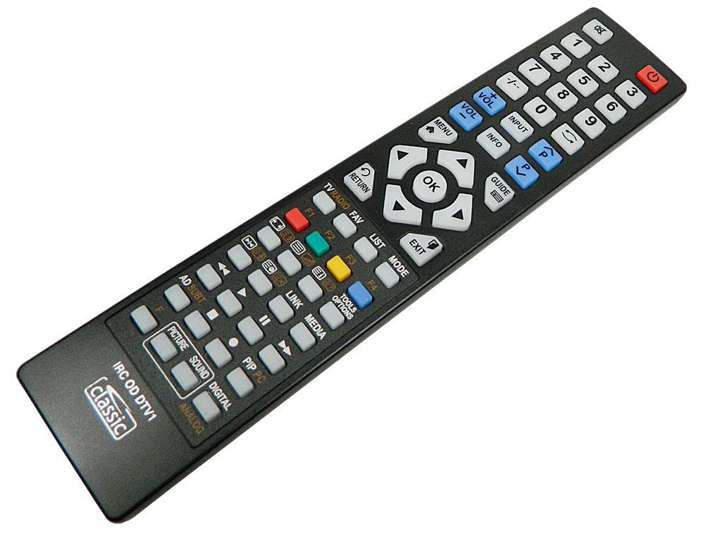 IRC84053 Programovatelný dálkový ovladač Classic IRC OD DTV1 (digitální TV)