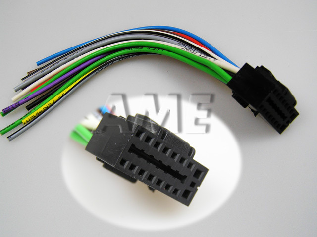 Kabel AUTO konektor pro KENWOOD volné konce ZRS-41