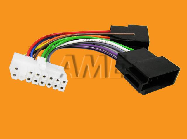 Kabel AUTO konektor pro PIONEER 7 volné konce ZRS-56