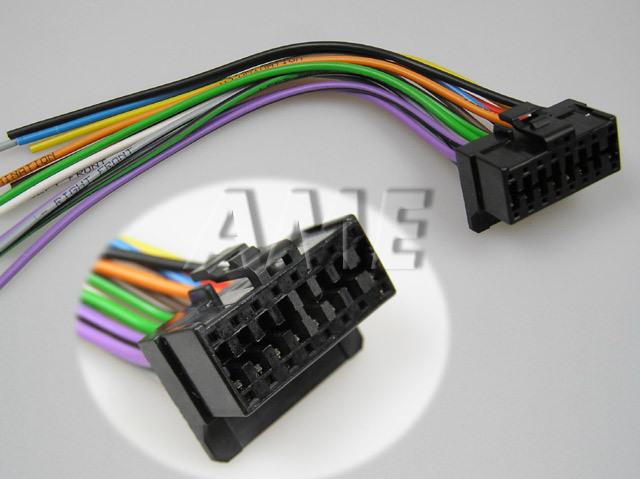 Kabel AUTO konektor pro PIONNER 6 volné konce ZRS-69