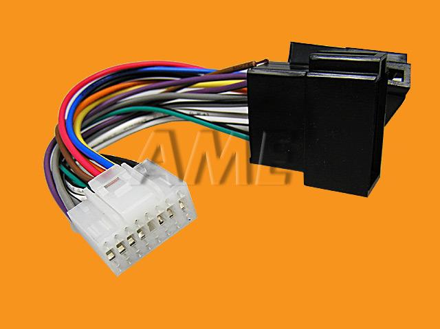 Kabel AUTO redukce ISO / PIONEER ZRS-43