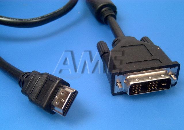 Kabel HDMI A - DVI-D 10m
