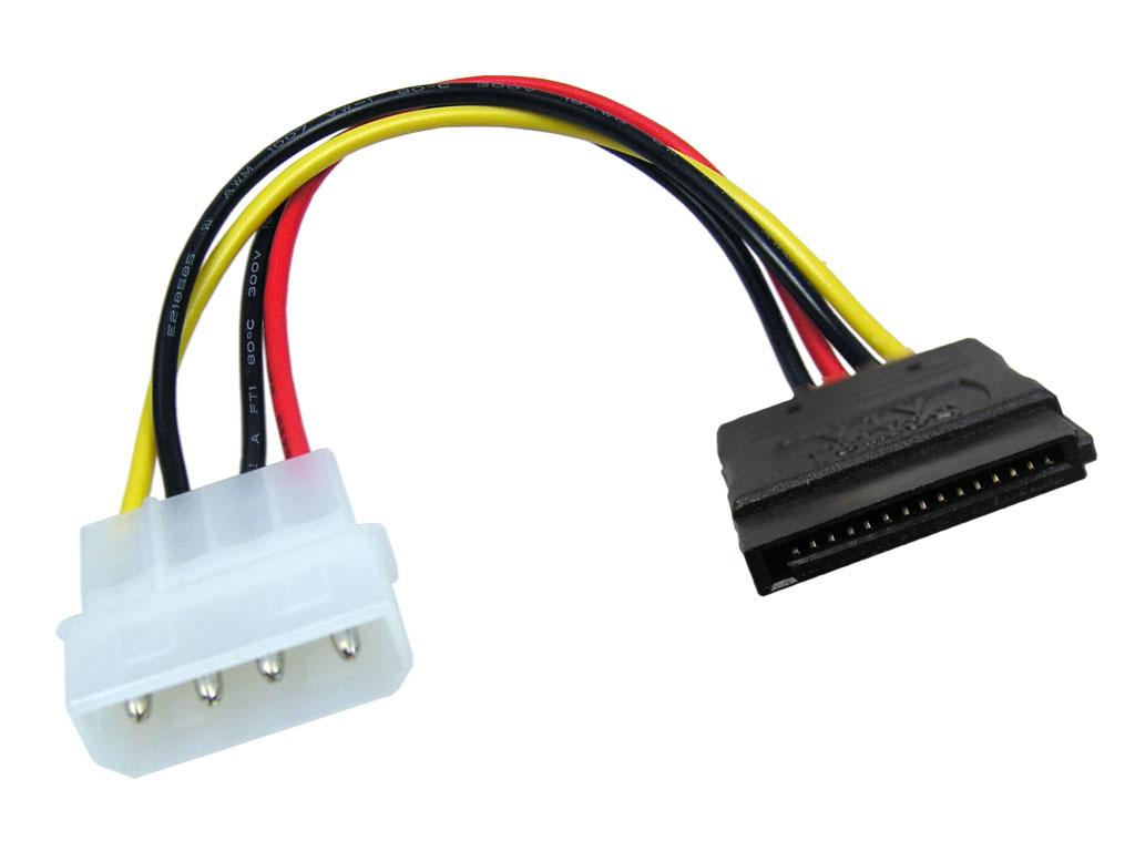 Kabel PC napájecí k HDD SATA (Serial ATA) PremiumCord