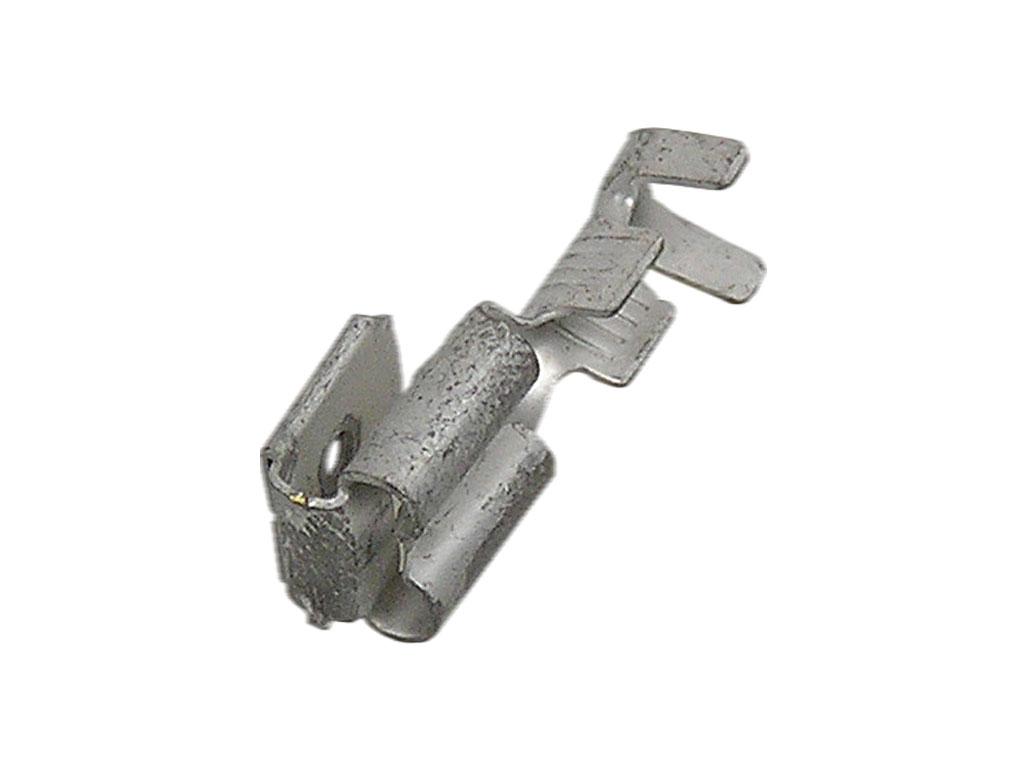Konektor Faston 6.3mm - průchozí - zásuvka a kolík