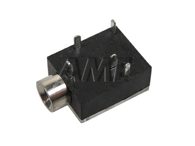 Konektor JACK 3.5mm stereo - samička