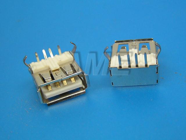 Konektor USB typ A - úhlový do DPS