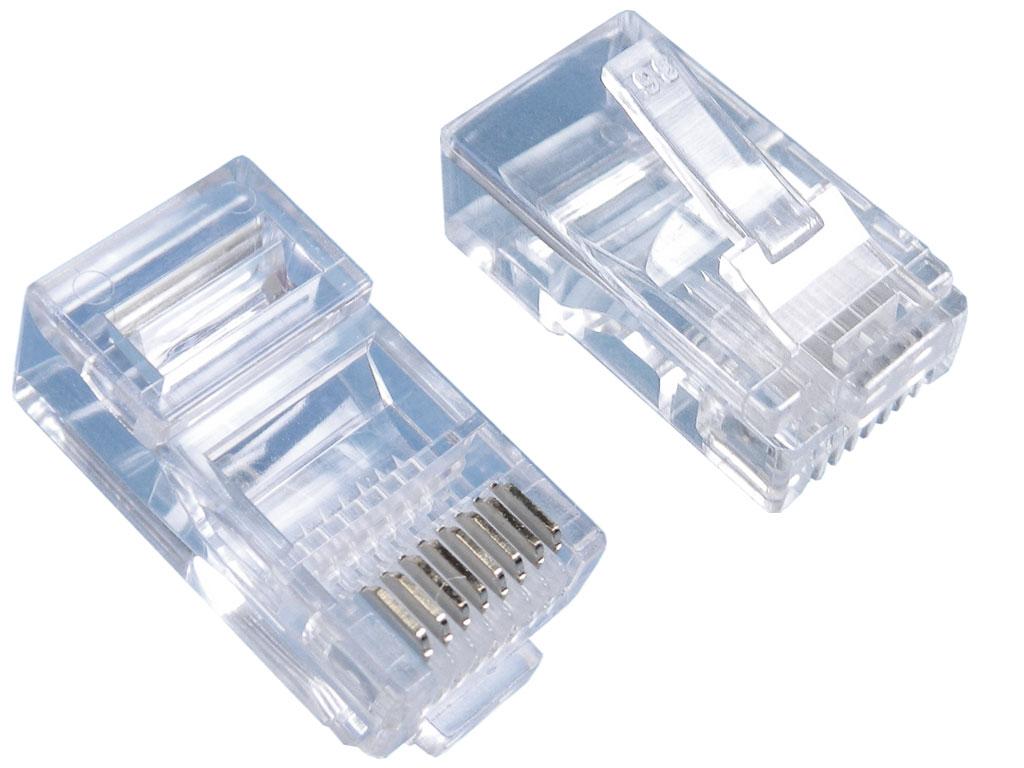 Konektor modulární 8p8c (RJ45) na kulatý kabel