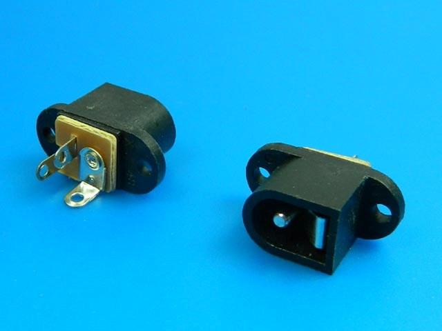 Konektor napájecí 5.5 x 2.1mm - do plošného spoje PC-010