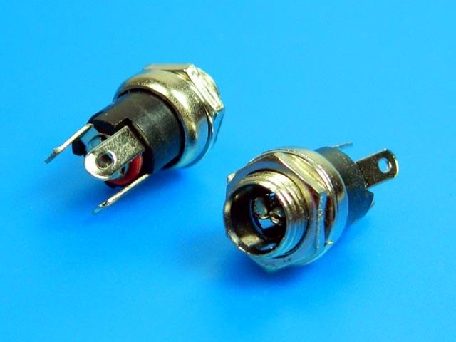 Konektor napájecí 5.5 x 2.1mm - panelový PC-G2.1