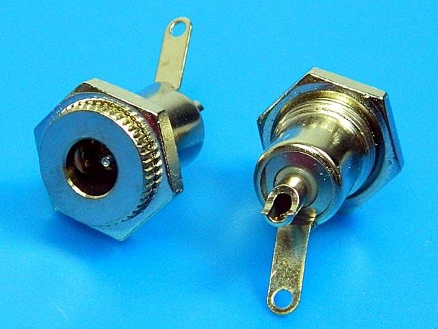 Konektor napájecí 5.5 x 2.1mm - panelový PC-GM2.1