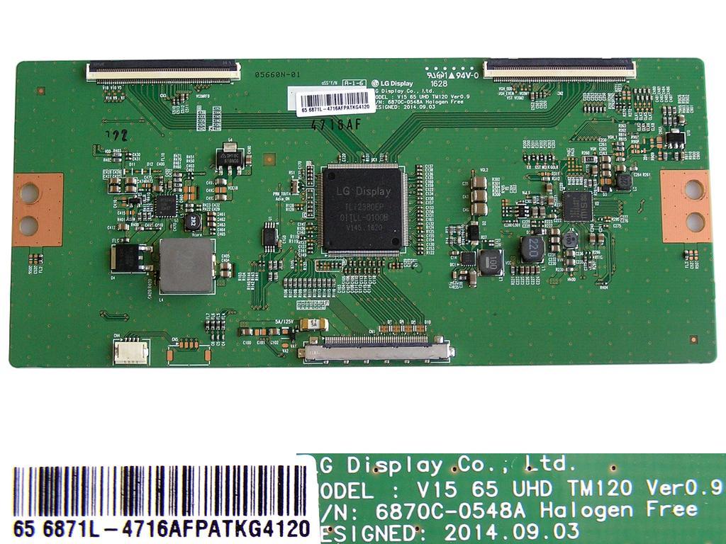 LCD LED modul T-CON 6870C-0438A LC470EUN / Tcon board 6871L-3210FENBE8V4653